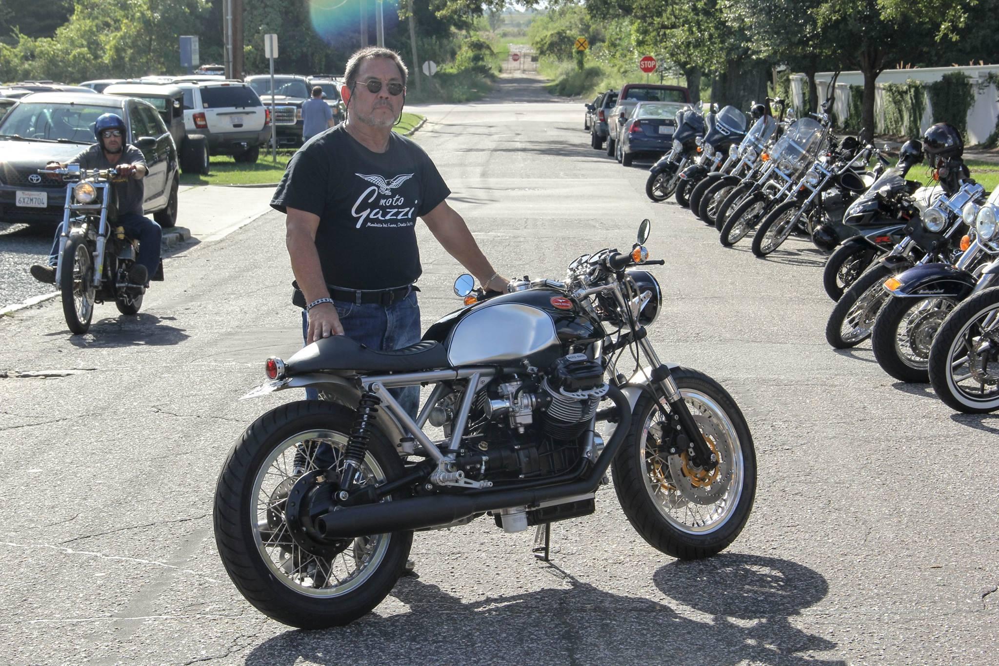 Moto Guzzi 850 T Cafe Racer By Moto Motivo Bikebound