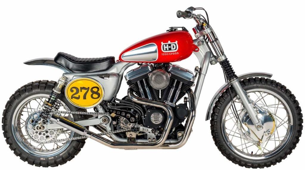 Harley Davidson XL1200 Sportster Scrambler