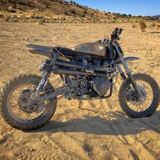 Triumph Scrambler Desert Sled by Modulus Creative