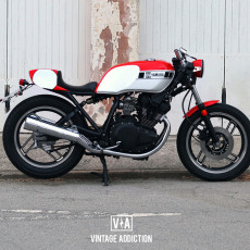 Yamaha XS400 Cafe Racer by Vintage Addiction Crew