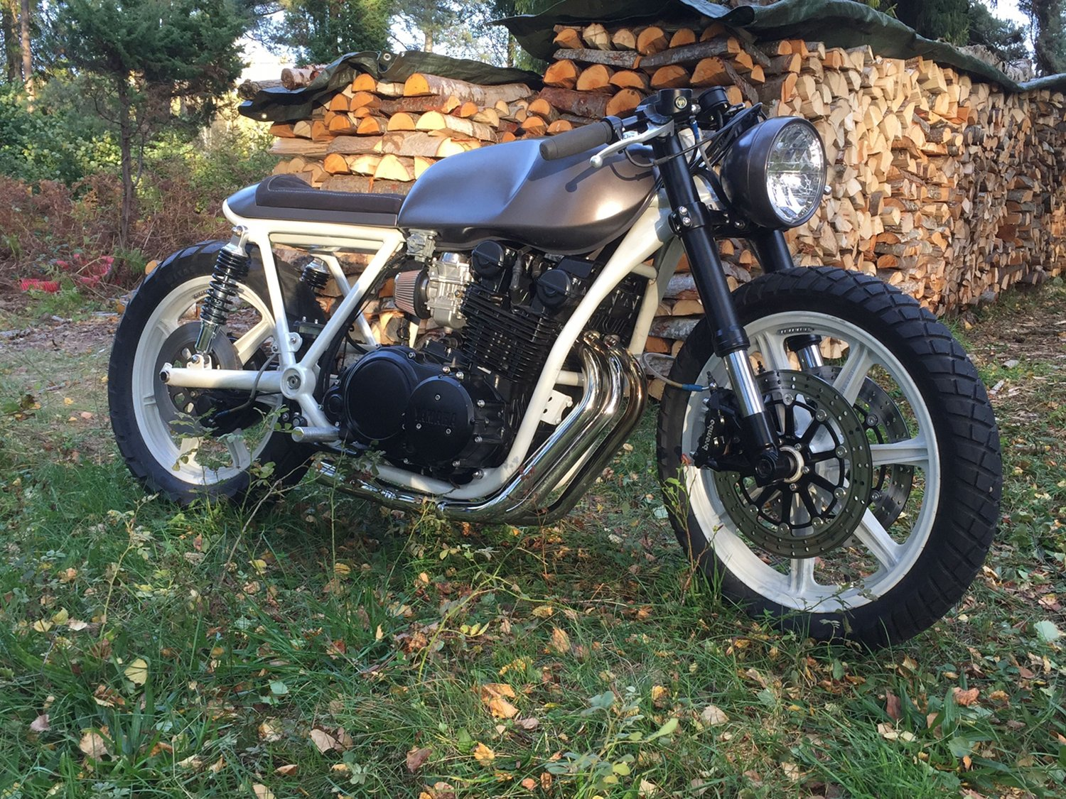 yamaha xs850 cafe racer by therapy moto bikebound xs650 wiring diagram yamaha xs850 cafe racer 13