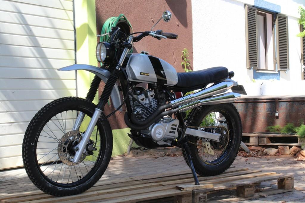 Cafe Racer Yamaha Xt
