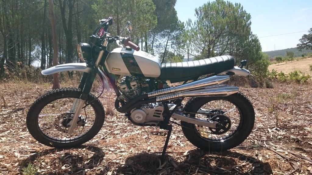 Yamaha XT350 Scrambler