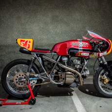 Ducati 860 GT Cafe Racer by XTR Pepo