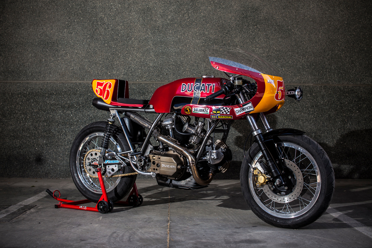 Ducati 860 Gt Cafe Racer By Xtr Pepo Bikebound