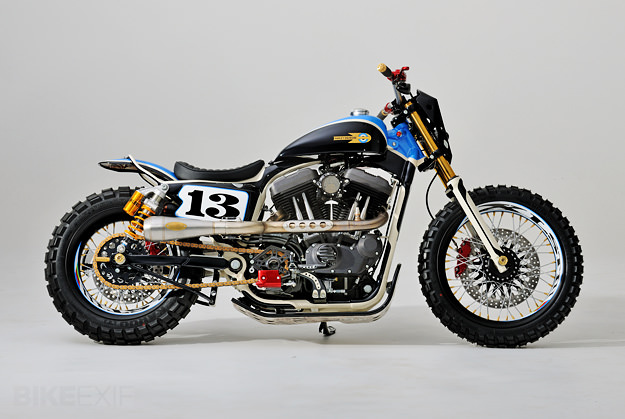 Harley Nightster Tracker