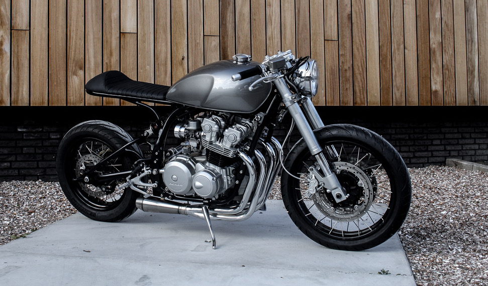 Honda Cb750f2 Cafe Racer By 14cycles Bikebound