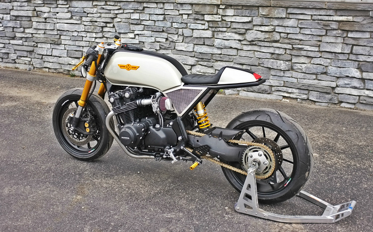 Honda CB750F Cafe Racer By BBCR Engineering BikeBound