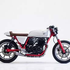 Honda CB750K Cafe Racer by Herencia Custom Garage