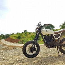 Honda XR200 Scrambler by 3B Customs