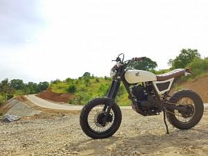 Honda XR200 Scrambler