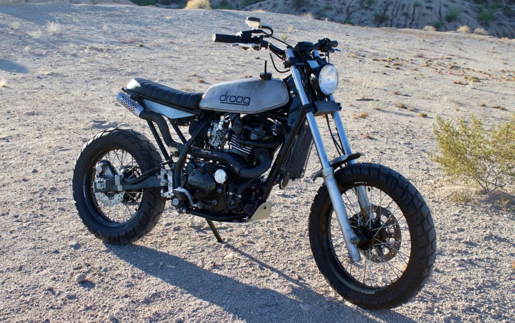 Kawasaki KLR650 Tracker