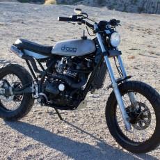 Kawasaki KLR650 Tracker by Droog Moto
