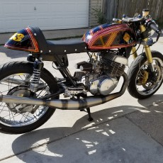 Suzuki T500 Cafe Racer by Motorcycle Mania Chicago
