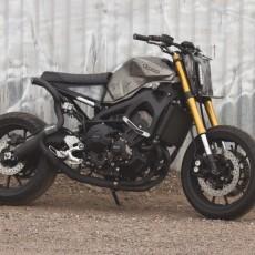 Yamaha FZ-09 Street Tracker by Droog Moto