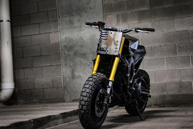 Yamaha FZ-09 Tracker
