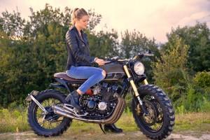 Yamaha XJ400 Scrambler