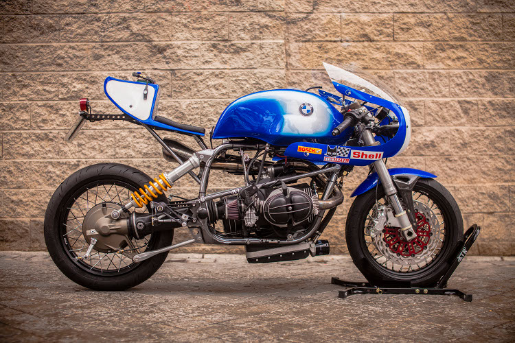 Bmw R100r Cafe Racer By Xtr Pepo Bikebound