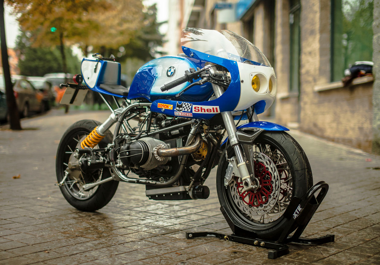 Extrêmement BMW R100R Cafe Racer by XTR Pepo – BikeBound ZQ29