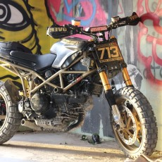Ducati Multistrada Scrambler by Behind Bars Customs