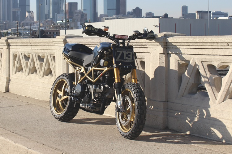 ducati multistrada scramblerbehind bars customs – bikebound