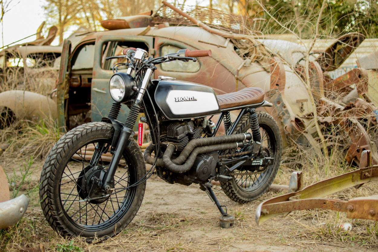 Rebel 250 Custom >> Honda CB250 Nighthawk Scrambler – BikeBound