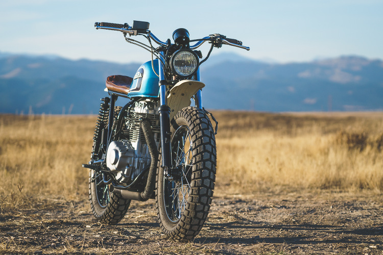 Honda CB360 Scrambler 1