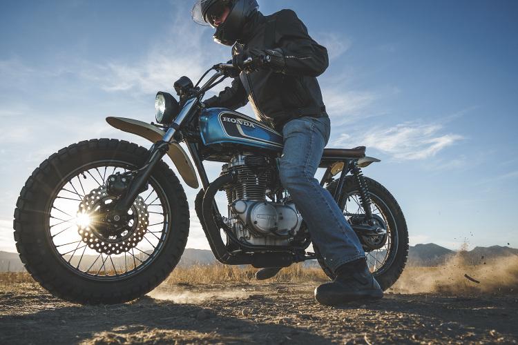 Honda CB360 Scrambler 12
