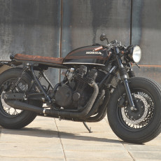 Honda CB750 Nighthawk Cafe Racer by Overbold Motor Co.