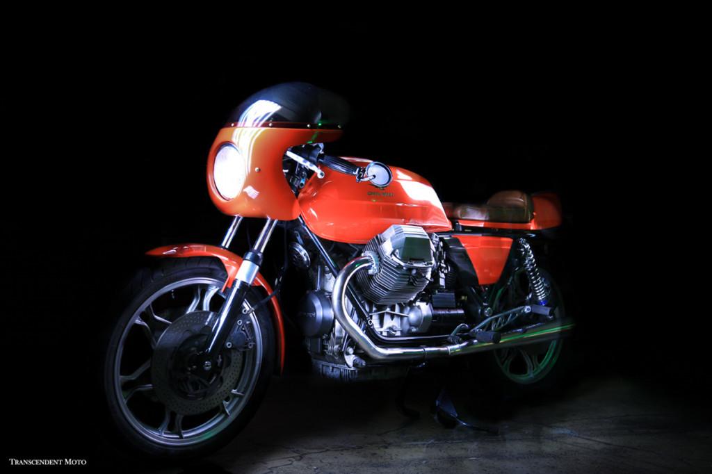 Moto Guzzi 850 Le Mans Cafe Racer Bikebound