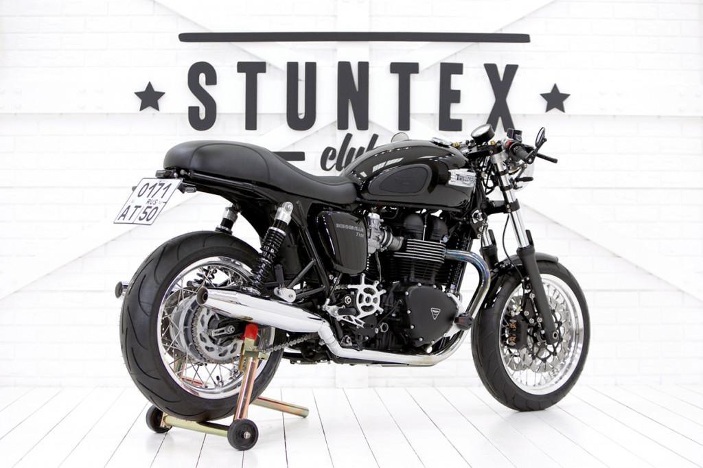Triumph T100 Cafe Racer By Stuntex Bikebound