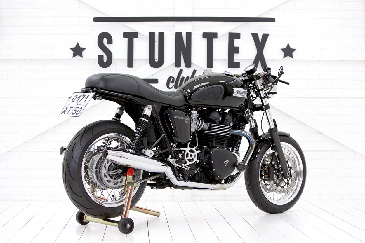 Bien-aimé Triumph T100 Cafe Racer by Stuntex – BikeBound SH03