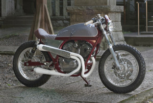 Yamaha SRV250 Cafe Racer