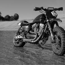 Harley-Davidson Sportster Dirt Bike