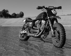 Harley Sportster Dirt Bike