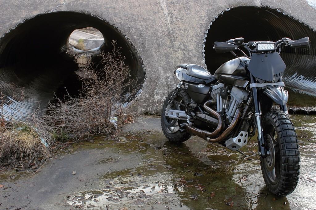Harley Sportster Dirt Bike