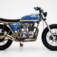 Honda CB550 Tracker by Herencia Custom Garage