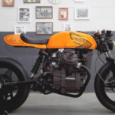Honda CX500 Cafe Racer by LV Custom