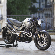 Honda FX650 Cafe Racer by Iz Meccanica