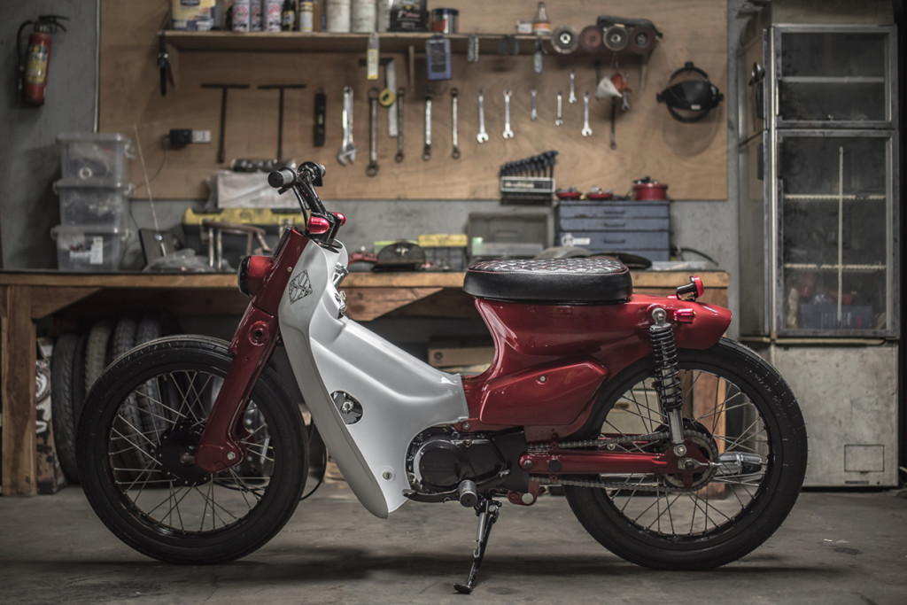 Honda Cub70 Custom