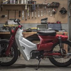 Honda Street Cub by Revolt Motorcycles