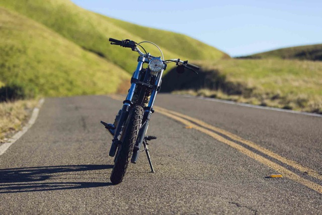 Honda XR600R Street Tracker