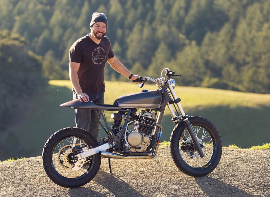 Honda XR600R Street Tracker – BikeBound on
