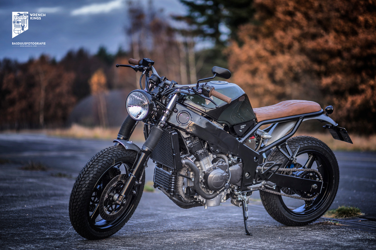 The Wrench Kings Of Holland Have Quickly Become One Our Favorite Builders Their Uber Sexy CB750F Cafe Racer Was A Huge Hit With Readers