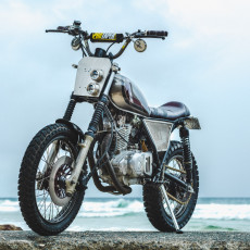 Suzuki GN250 Scrambler by Purpose Built Moto