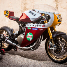 Triumph Legend TT Cafe Racer by XTR Pepo