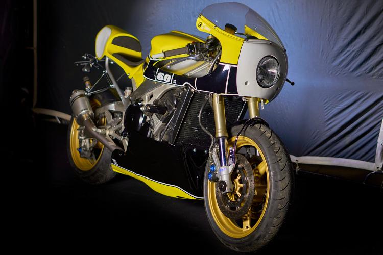 Yamaha R1 Cafe Racer By Vintage Addiction Crew Bikebound