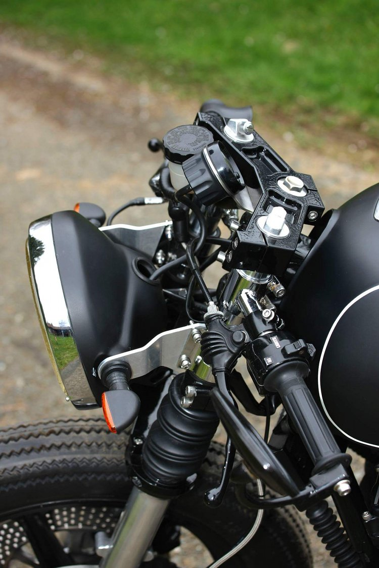 XS11 Cafe Racer: In the Builder's Words. Yamaha XS1100 Cafe Racer