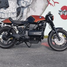 BMW K100 Cafe Racer by Weston Customs