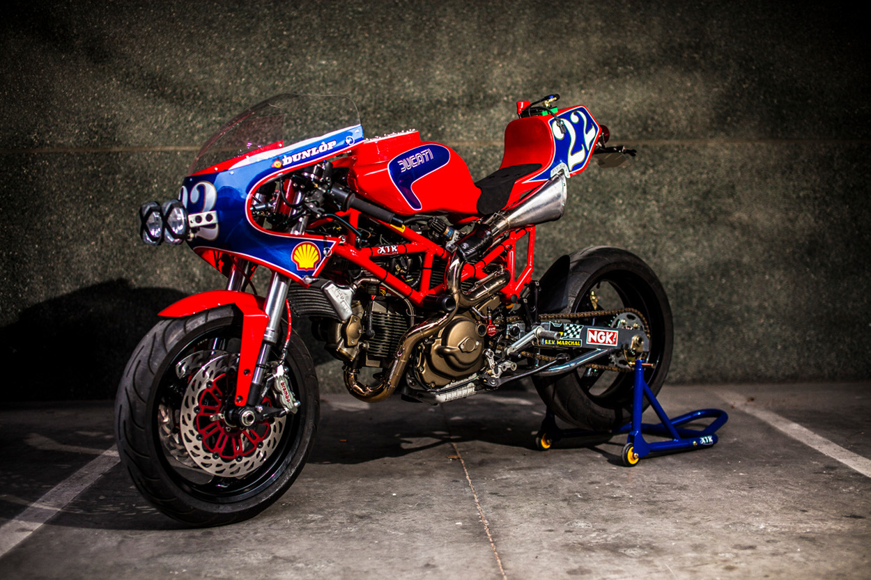 custom ducati monster